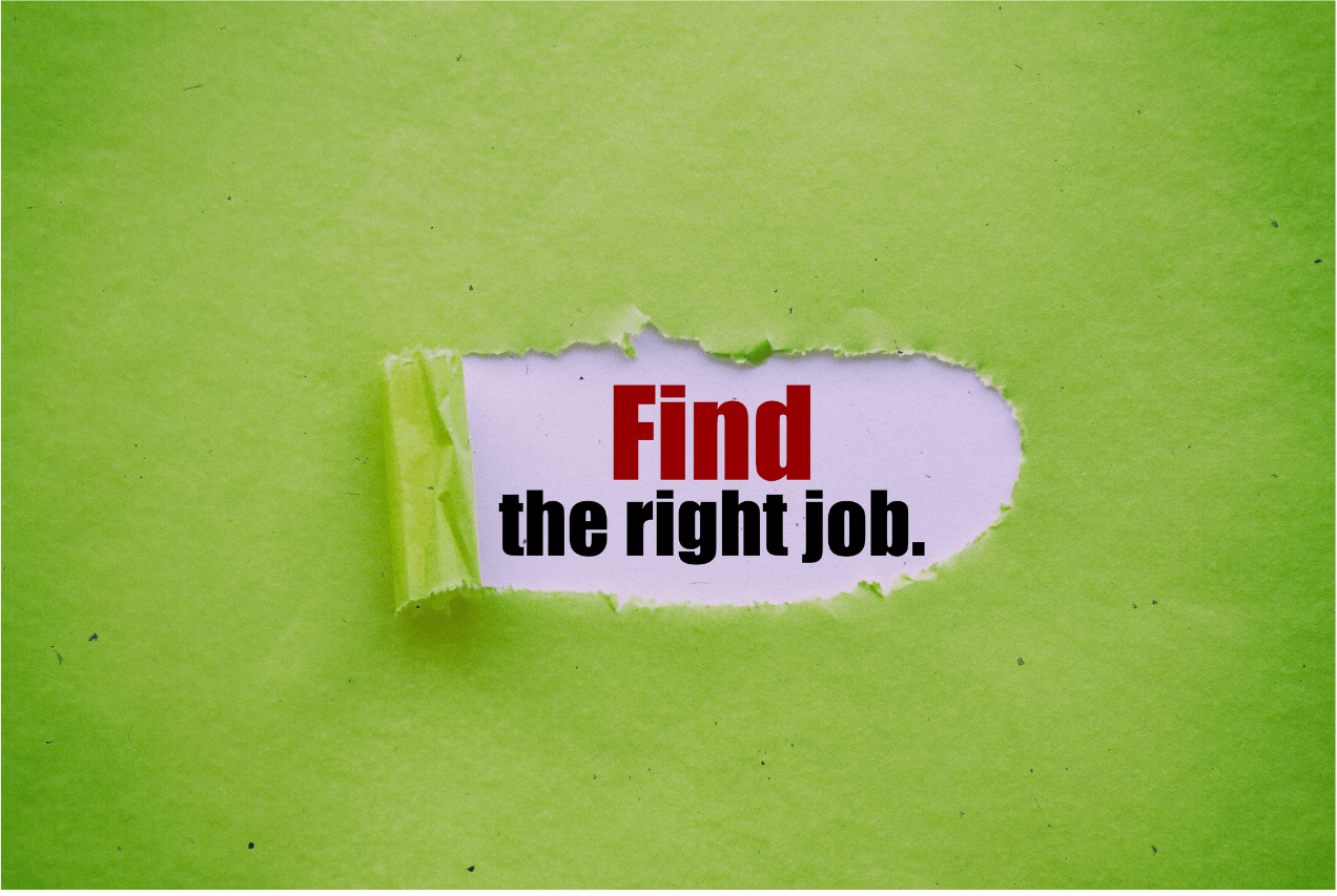Finding the Right Job in a COVID era